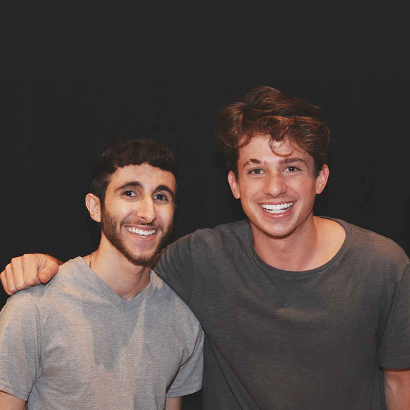 Joseph Karre with Charlie Puth